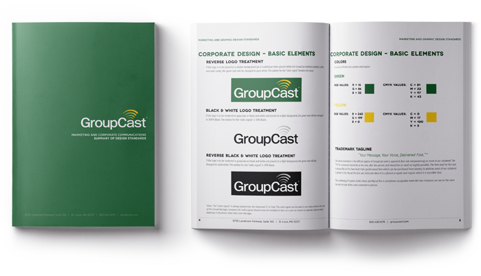 Group Cast Brand Guideline